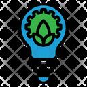 Green Technology Green Idea Icon