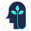 Green Think Nature Icon