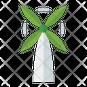 Green Windmill Icon
