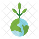 Green World Icon