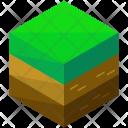 Green Terrain Soil Icon