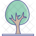 Greenery Nature Oak Tree Icon