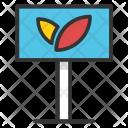 Hothouse Greenhouse Nursery Icon