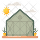 Ecohouse Eco Home Greenhouse Icon