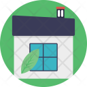 Greenhouse Leaf Ecology Icon