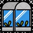 Greenhouse Plant House Icon