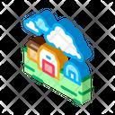 House Greenhouse Farming Icon