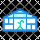 Farm Greenhouse Color Icon