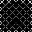 Greenhouse Hydroponic Organic Icon