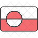 Greenland Country Flag Icon