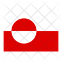 Greenland Flag Flags Icon