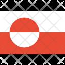 Greenland Flag World Icon