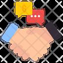 Greeting Collaboration Communication Icon