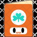 Greeting Card Saint Patrick Card Icon