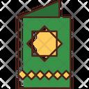 Greeting Card Eid Traditional Icon