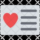 Card Ecard Wishing Icon