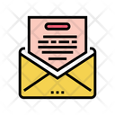 Thanks Message Letter Icon