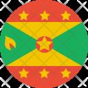 Grenada Flag World Icon