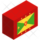 Flag Country Grenade Icon