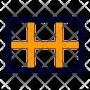 Grid Location Position Icon