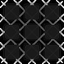 Grid Menu Thumbnails Icon