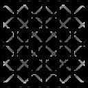 Grid Square Shape Icon