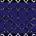 Adaptive Fluid Grid Icon