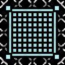 Grid Pixel Graphic Icon
