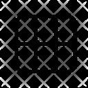 Display Grid Masonry Icon