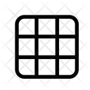 Grid Photo Camera Icon