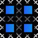 Grid Layout Thumbnails Icon
