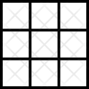 Squares Shape Outline Icon