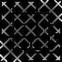 Grid Shape Squares Icon