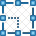 Graphic Design Grid Icon