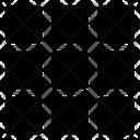Grid Menu Layout Icon