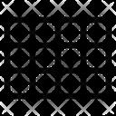 Grid Camera Photo Icon