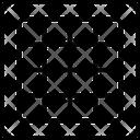 Grid Squares Grid Icon