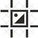 Grid Markup Picture Icon