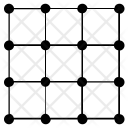 Grid Transform Linear Icon