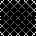 Grid Object Horizontal Icon