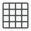 Grid View Design View Small Grid Icon