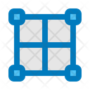 Grid Layout Wireframe Icon
