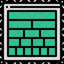 Grid Layout Webdesign Icon