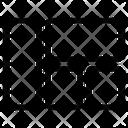 Grid Quilt Textile Icon