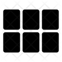 Grid Module Space Icon
