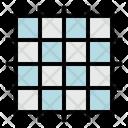 Grid Square Graphic Design Icon