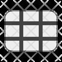 Grid Column Row Icon