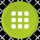 Grid Home Multimedia Icon