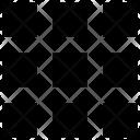 Grid List Menu Icon