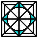 Grid Guide Icon